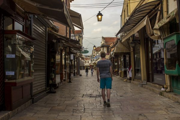 Skopje walk and photo tour