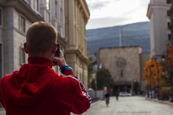Skopje tour for Instagramers